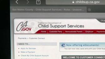 CA.gov child support web page