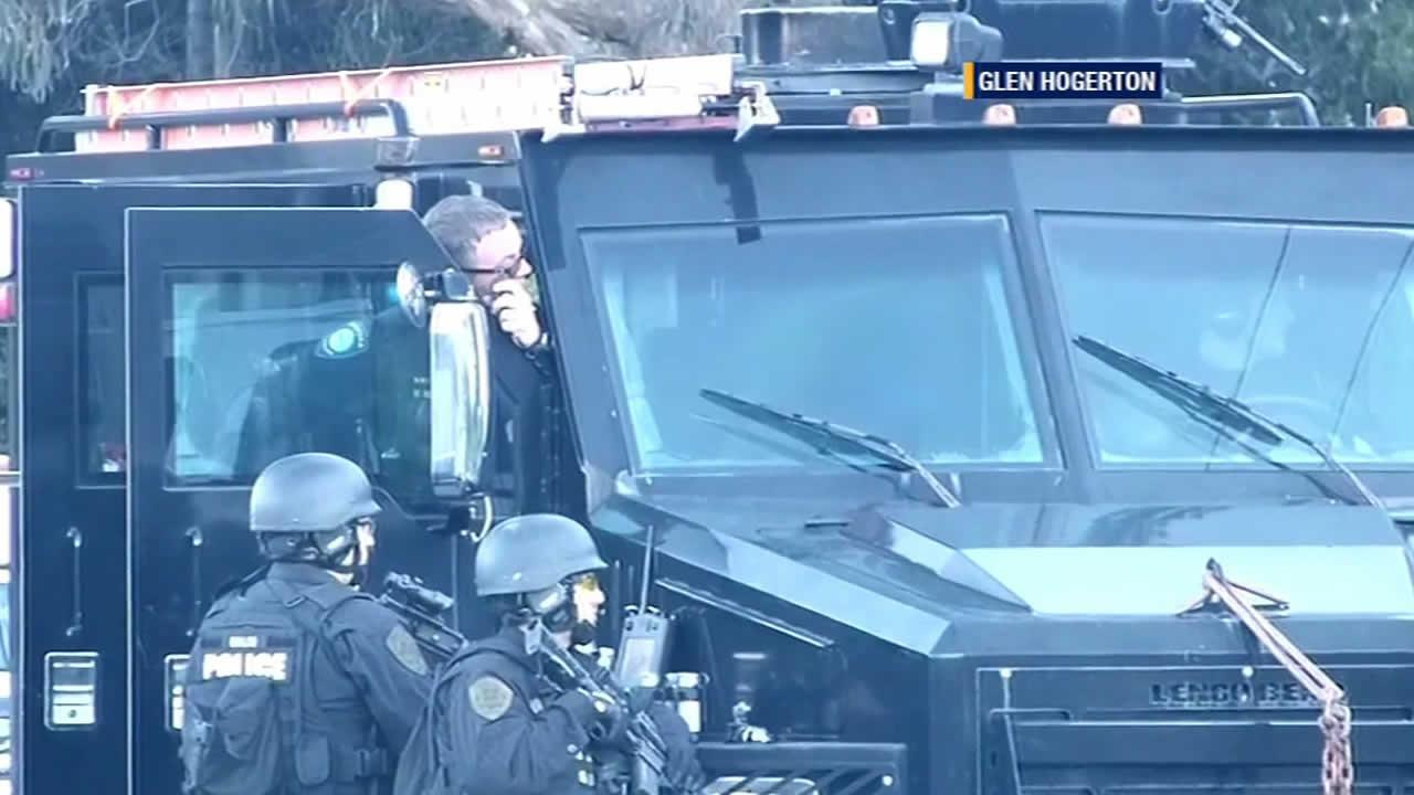 SWAT team in Pacifica
