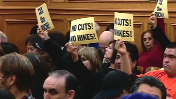 Angry riders voice opinions on Muni cuts
