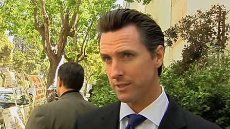 Mayor Gavin Newsom is now China to open San Francisco Week at the World Expo in Shanghai.