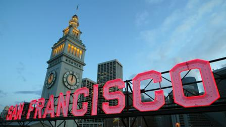San Franciscos Ferry Building has been named one of the nations ten great public spaces for 2010.