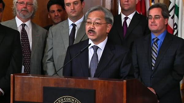 SF mayor laid out his pension reform plan