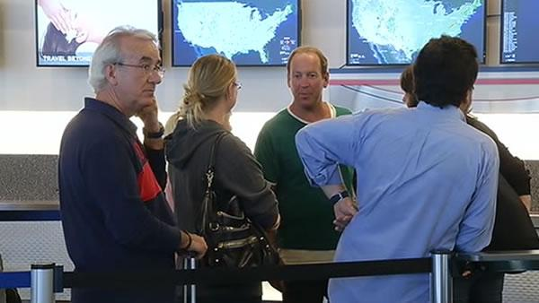 Some Bay Area flights to East Coast canceled