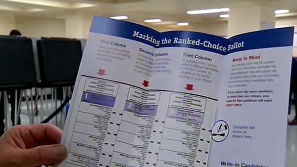 Supervisors propose end to ranked-choice voting