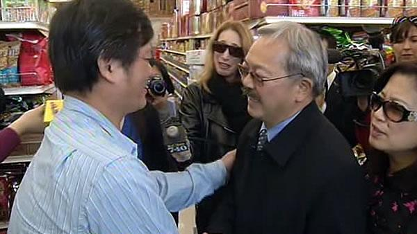 Mayor Ed Lee takes victory lap in San Francisco