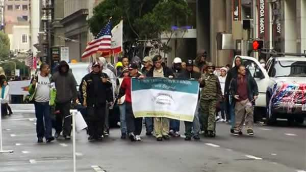 Veterans Day events kick off in San Francisco