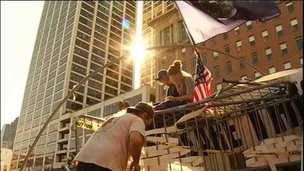 Tension remains high at Occupy SF camp