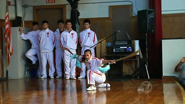 China's premier martial arts team comes to SF
