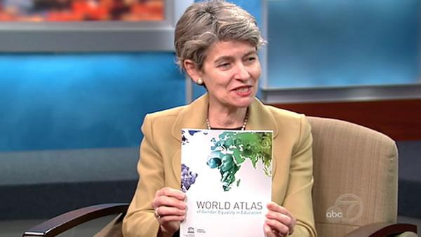 Bokova in SF to promote literacy for women
