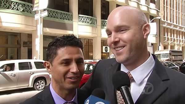 Married gay couple fights off deportation, for now