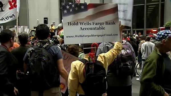 Repeat stories from Wells Fargo protesters