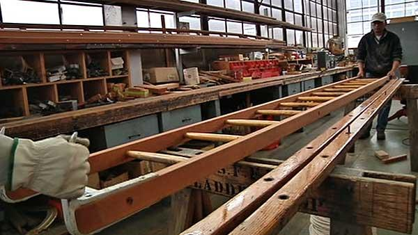 SF Fire Dept. last to craft own wooden ladders