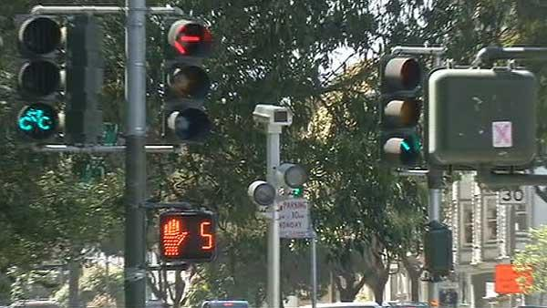 Traffic fines pile up at confusing intersection
