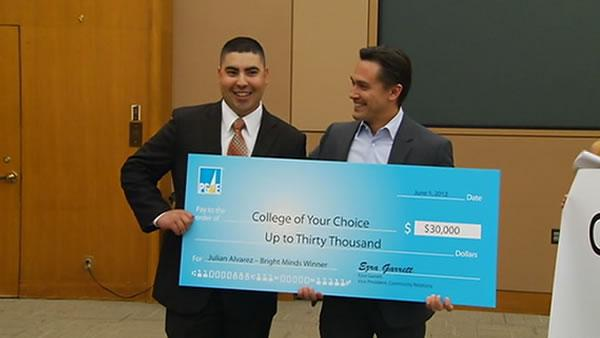26-year-old local veteran gets PG&E scholarship