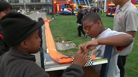 San Francisco officials hosted kids at City Hall to highlight programs offered to kids during the summer