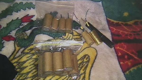 Big explosives seized from Mission District home