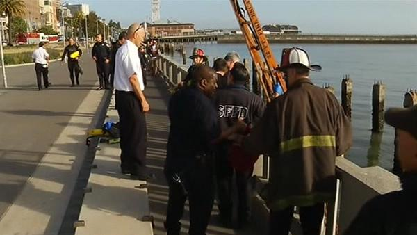 Body found in water off of SF's Embarcadero