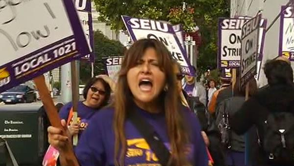 SF Superior Court workers walk off the job