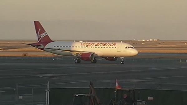 SFO-bound Virgin flight slams on the brakes