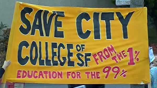 City College of SF in danger of losing accreditation