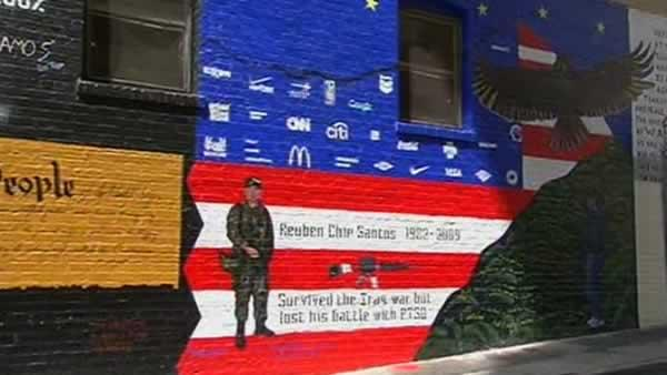 Veterans honored with mural in San Francisco