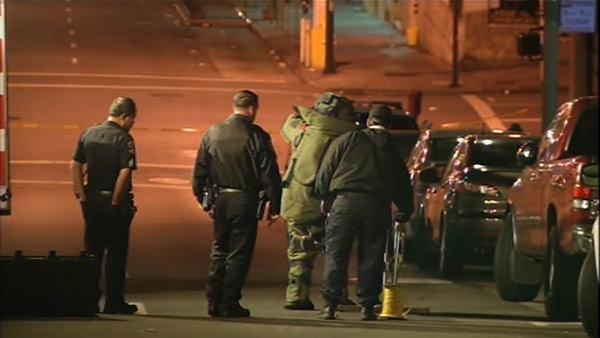 All clear given after SF bomb squad investigation