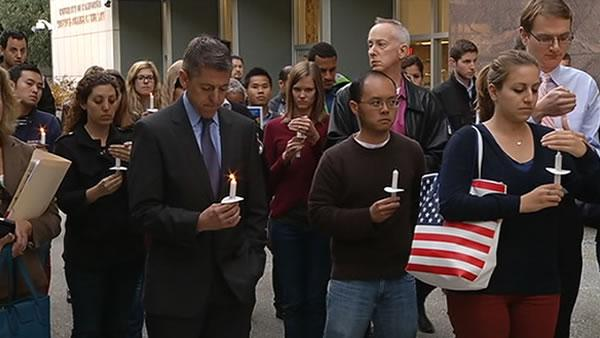 Vigil held at UC Hastings for Ambassador Stevens