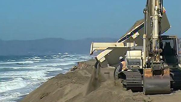 Ocean Beach sand management project wraps up