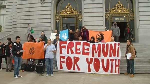 Free Muni approved for low-income youth