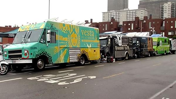Restaurants say food trucks are hurting business
