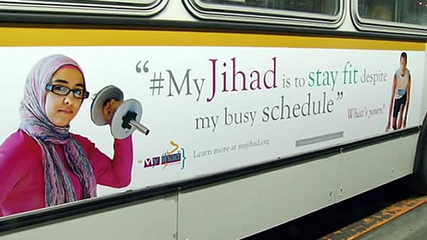 SF buses help teach what 'jihad' really means