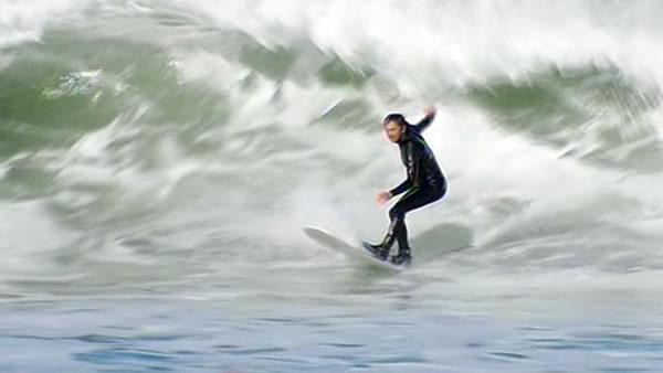 High surf warnings create challenges for surfers