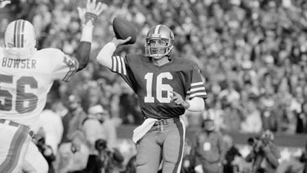 Joe Montana will be inducted into the California Hall of Fame
