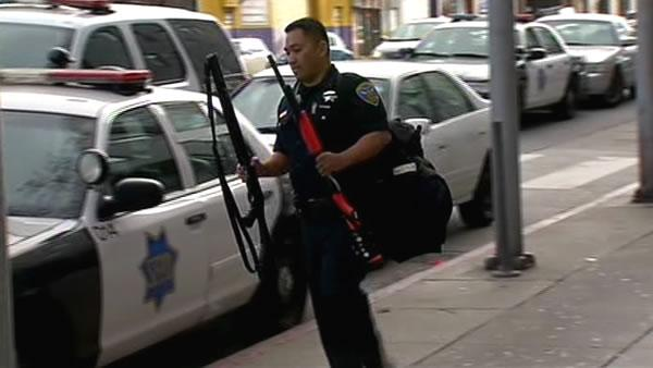 AR-15 rifle stolen from San Francisco police