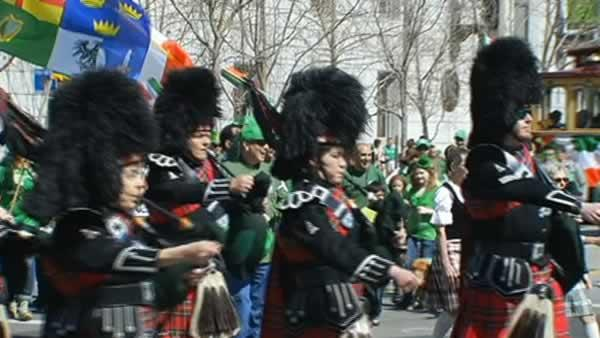 St. Patrick's Day celebrated in San Francisco