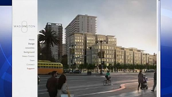 Battle heats up over SF waterfront project