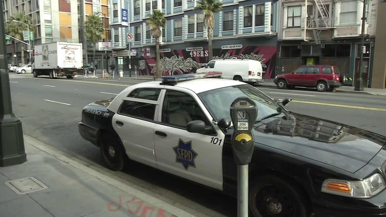 Two police officers were injured after they tried to arrest a suspected drug dealer in SFs SoMa neighborhood on Monday.
