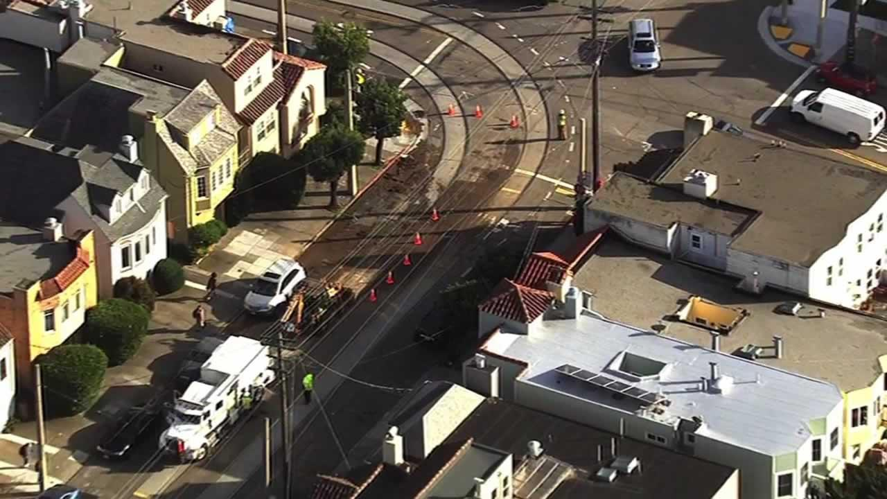 SF water main break