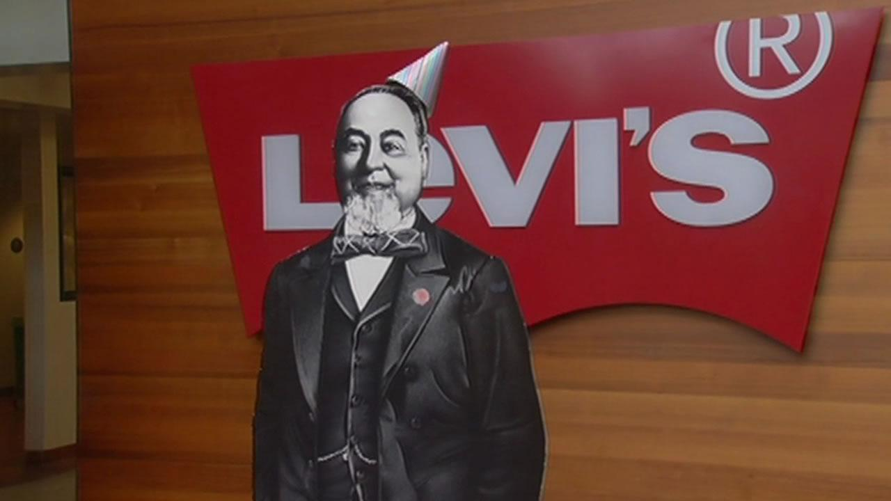 Levi Strauss was born 185 years ago Wednesday.