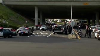 Police search for gunman in Daly City after officer shot in San Francisco