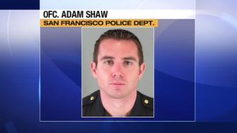 San Francisco police officer Adam Shaw.