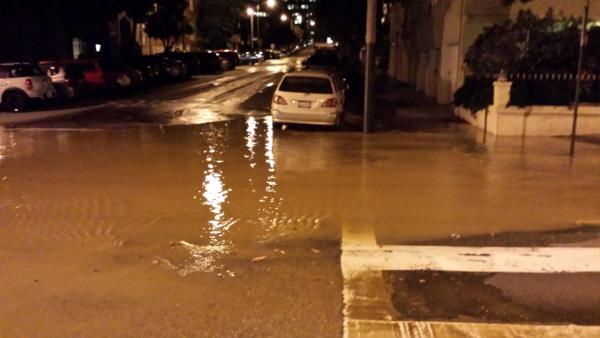 Crews fix broken water main in SF's Lower Haight
