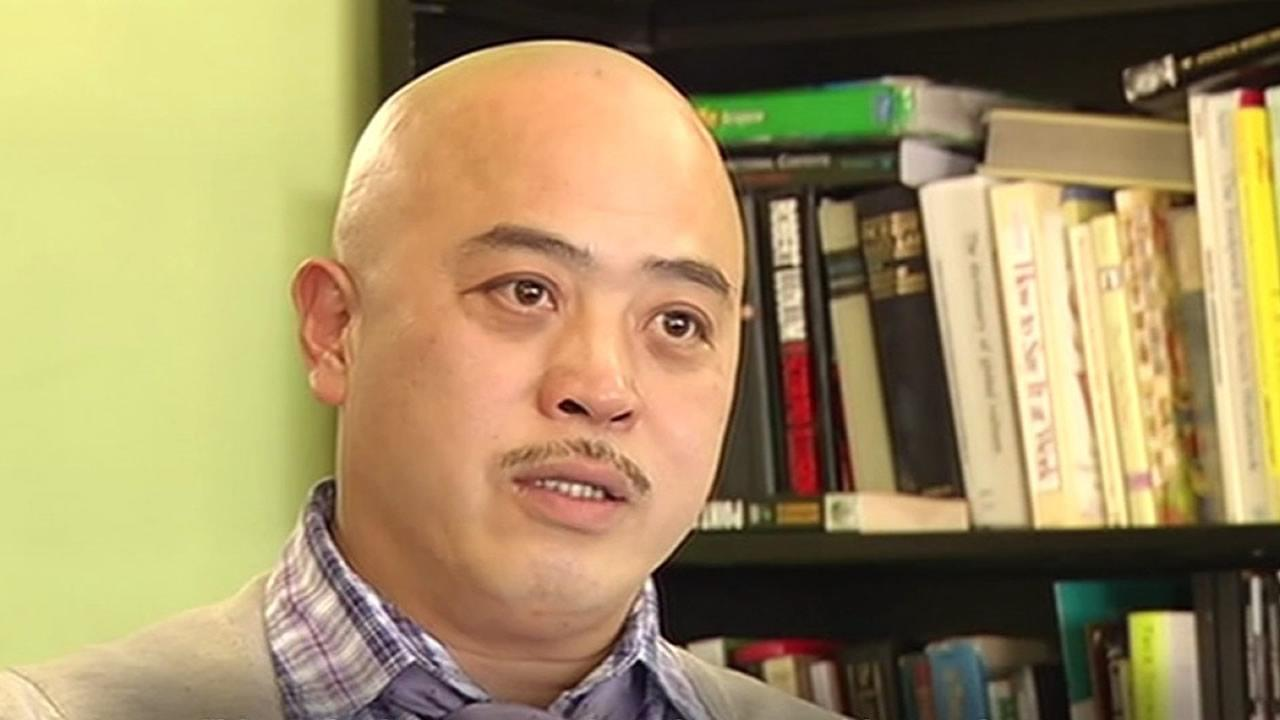 Reputed former Chinatown gangster Raymond Chow, also known as Shrimp Boy.