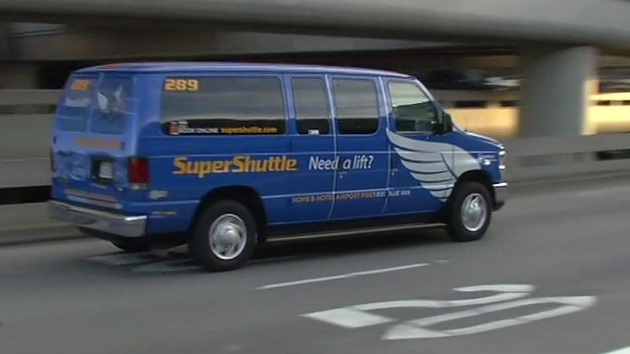 I was running the San Francisco Marathon, and SuperShuttle drove me directly to the Expo at Fort Mason! So it works like this: After scheduling your pick up, and within minutes of your arriving at SFO, SuperShuttle will text you, asking you where you are waiting 2/5(K).