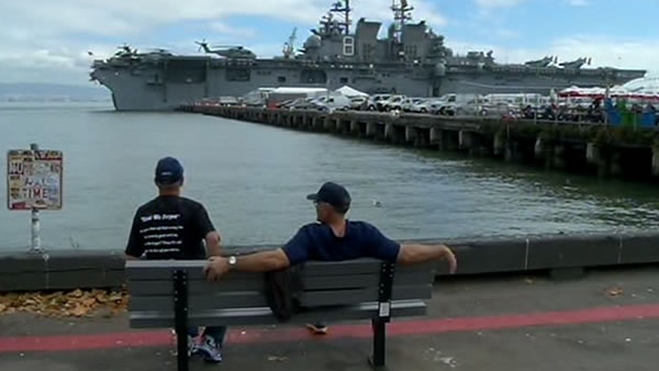 Record crowds in San Francisco for Fleet Week 2012. <span class=meta>(KGO)</span>
