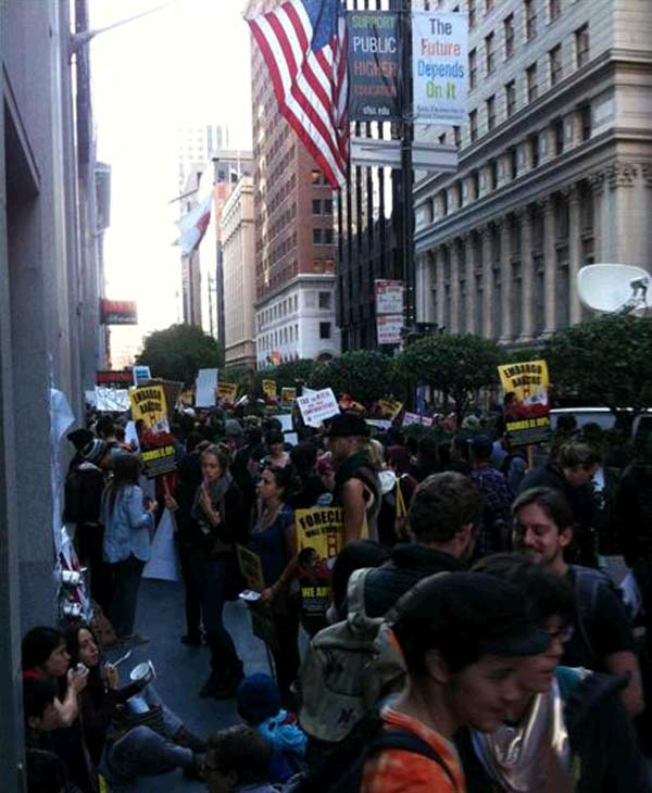 Occupy San Francisco protest (Sent in via uReport)