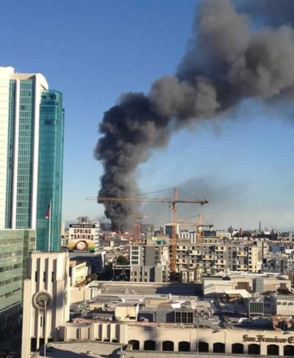 "<div class=""meta image-caption""><div class=""origin-logo origin-image ""><span></span></div><span class=""caption-text"">A major fire burning near 4th Street near China Basin in San Francisco.</span></div>"