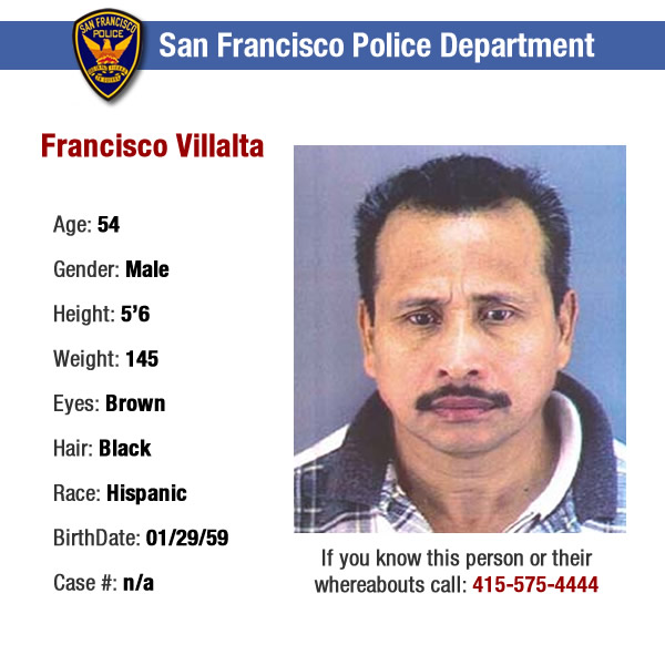Villalta stabbed girlfriend and threatened to kill her.  If anyone knows or has any information regarding the whereabouts of the suspects shown in these ID photos, please contact the SFPD tip line at 415-575-4444. <span class=meta>(SFPD)</span>