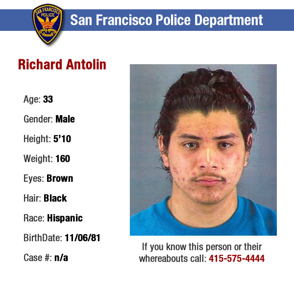 WANTED: HOMICIDE, CONSPIRACY, ASSAULT WITH A DEADLY WEAPON.  Medium build, heavy acne, moustache.  He is a suspsect in a 1998 murder and considered armed and dangerous.  If anyone knows or has any information regarding the whereabouts of the suspects shown in these ID photos, please contact the SFPD tip line at 415-575-4444. <span class=meta>(SFPD)</span>