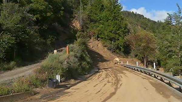 Rain delays Santa Cruz roads from opening